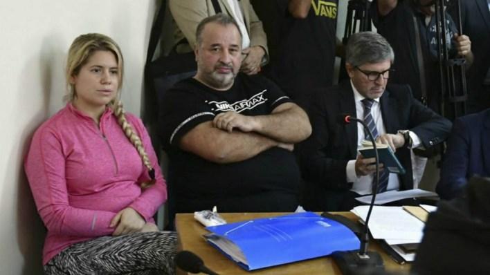 Marcelo Balcedo y Paola Fiege (Gentileza: El País)