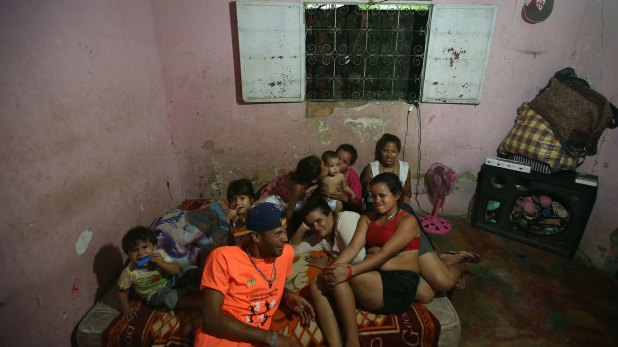 Venezolanos en Boa Vista (EFE)