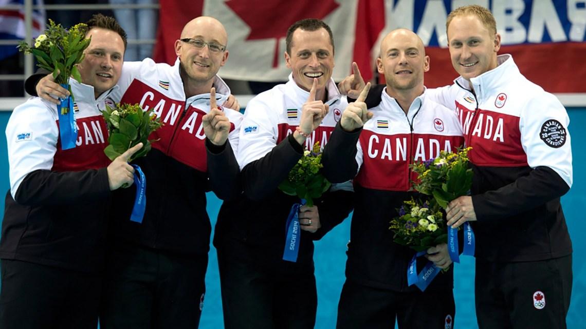 Canadá es la gran potencia mundial del curling (The Canadian Press)