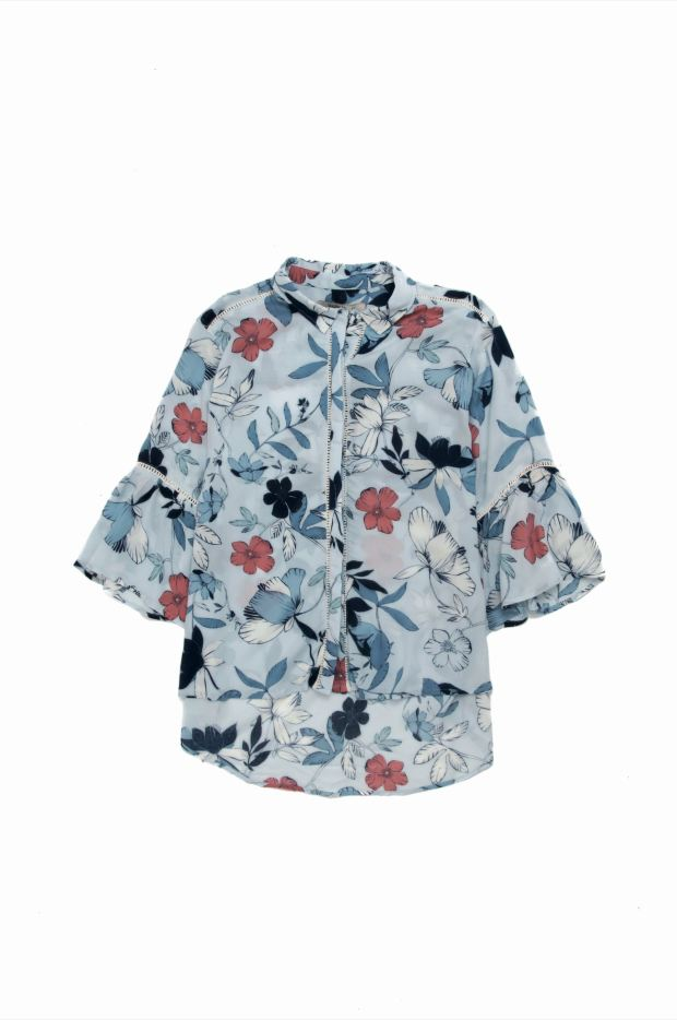 Camisa estampada($ 950, Wanama).