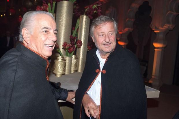 Los empresarios Alejandro Bulgheroni y Cristiano Rattazzi también estuvieron invitados a los festejos