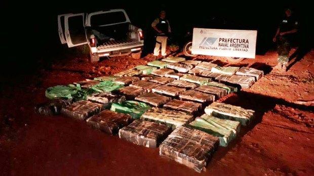 Secuestraron una tonelada y media de marihuana durante los feriados de Carnaval en Corrientes y Misiones (Télam)