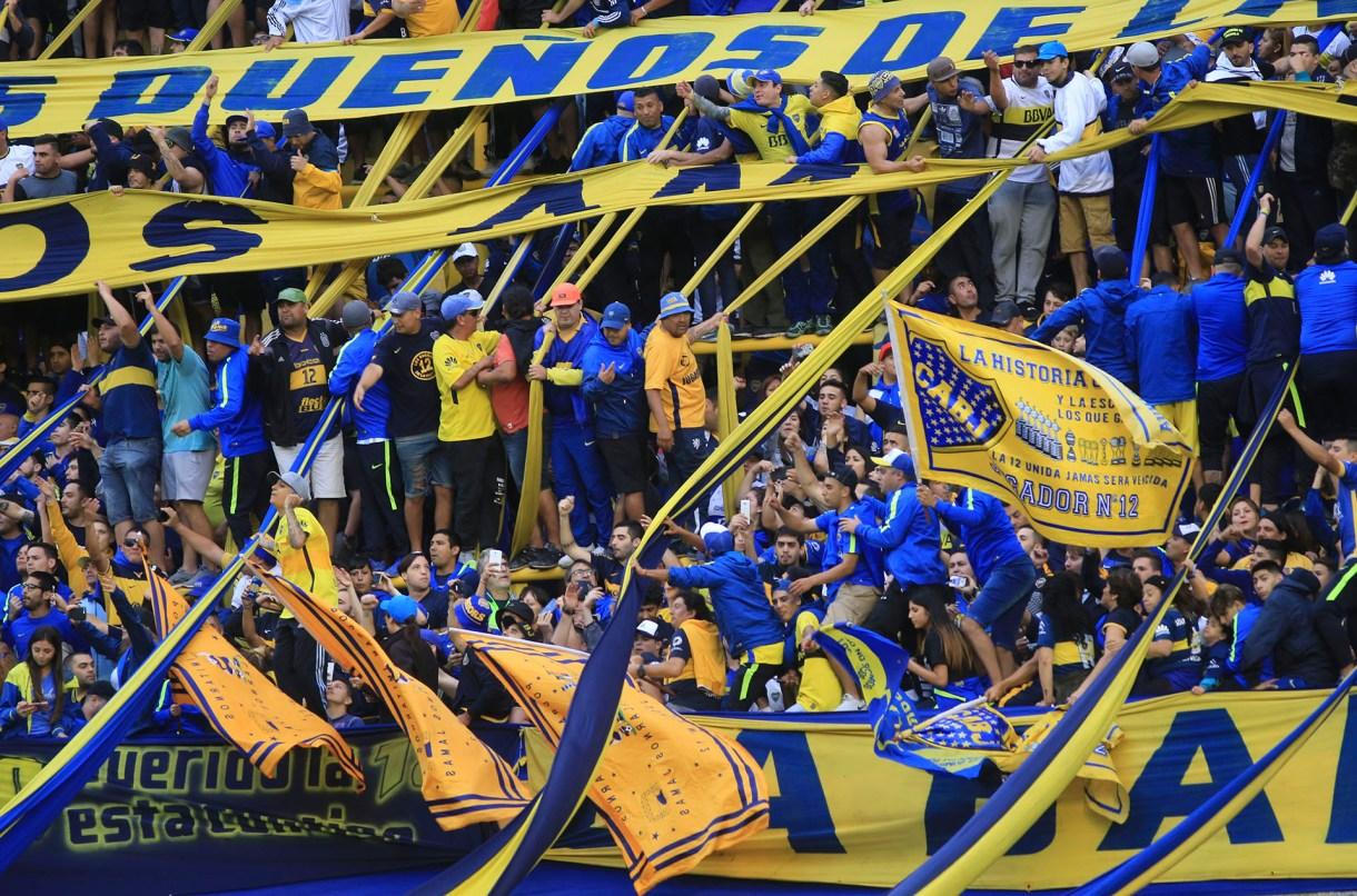 zzzznacd2NOTICIAS ARGENTINAS BAIRES, DICIEMBRE 3: La hinchada de Boca durante el partido ante Arsenal correspondiente a la 11° fecha de la Superliga.Foto NA: DANIEL VIDESzzzz