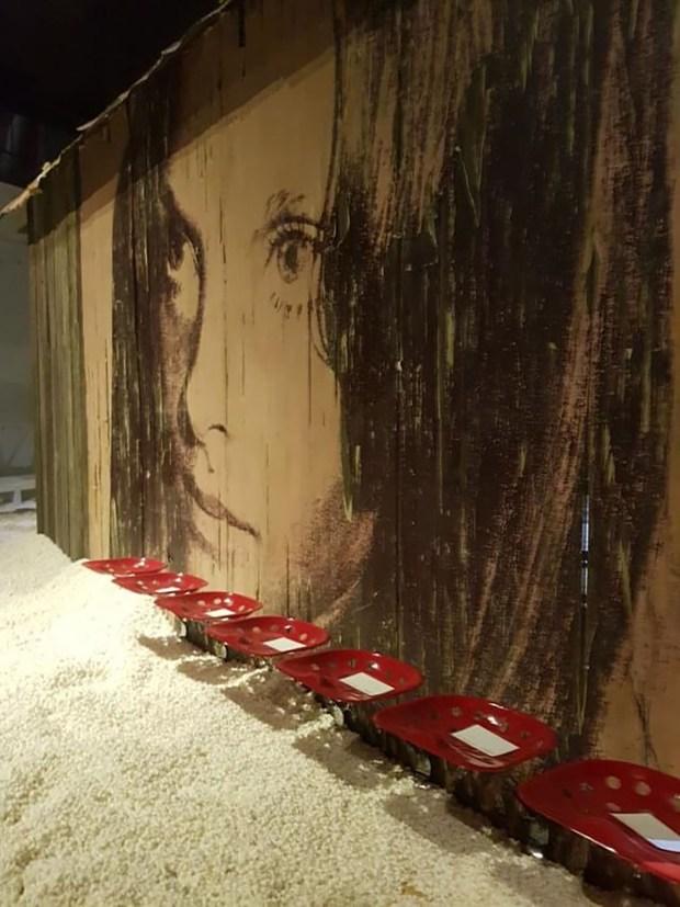 Instalaciones deAndy Warhol ambientaron el desfile de Calvin Klein