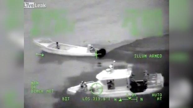La Guardia Costera la interceptó antes de su llegada a destino