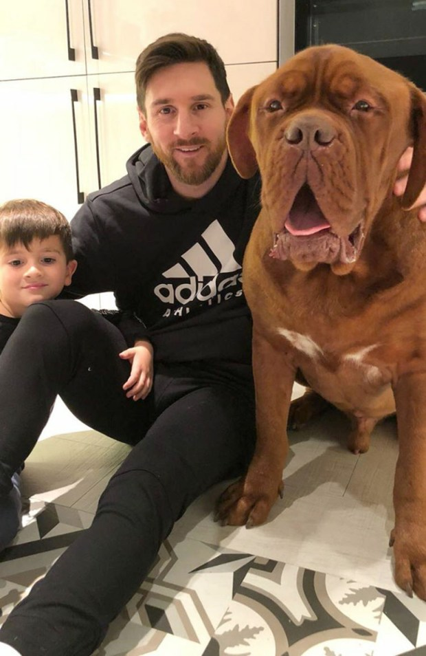 La foto en familia que compartió Lionel Messi en su Instagram con Hulk y Thiago