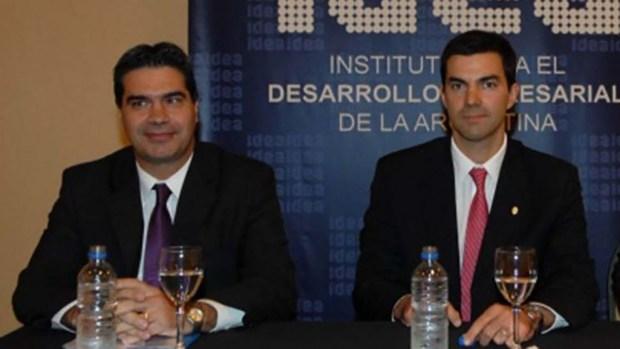Jorge Capitanich y Juan Manuel Urtubey
