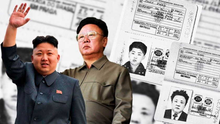 Lideres Corea del Norte pasaportes falsos Kim Jong un Kim Jong il (4)