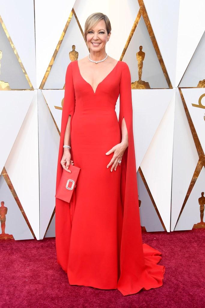Allison Janney, elegante