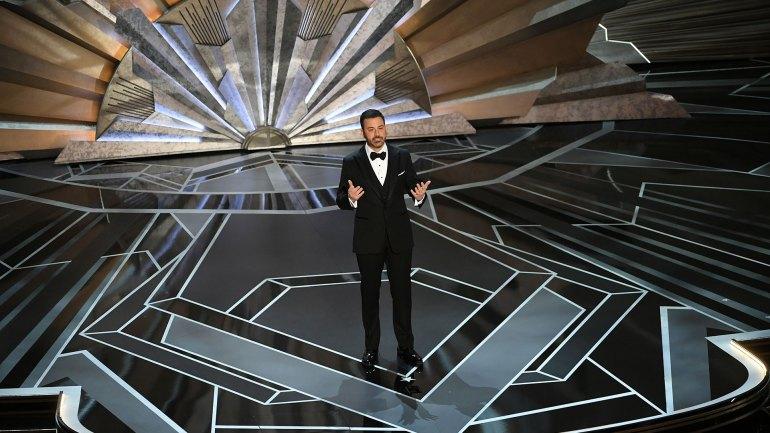 Jimmy Kimmel en la presentación de los Oscar