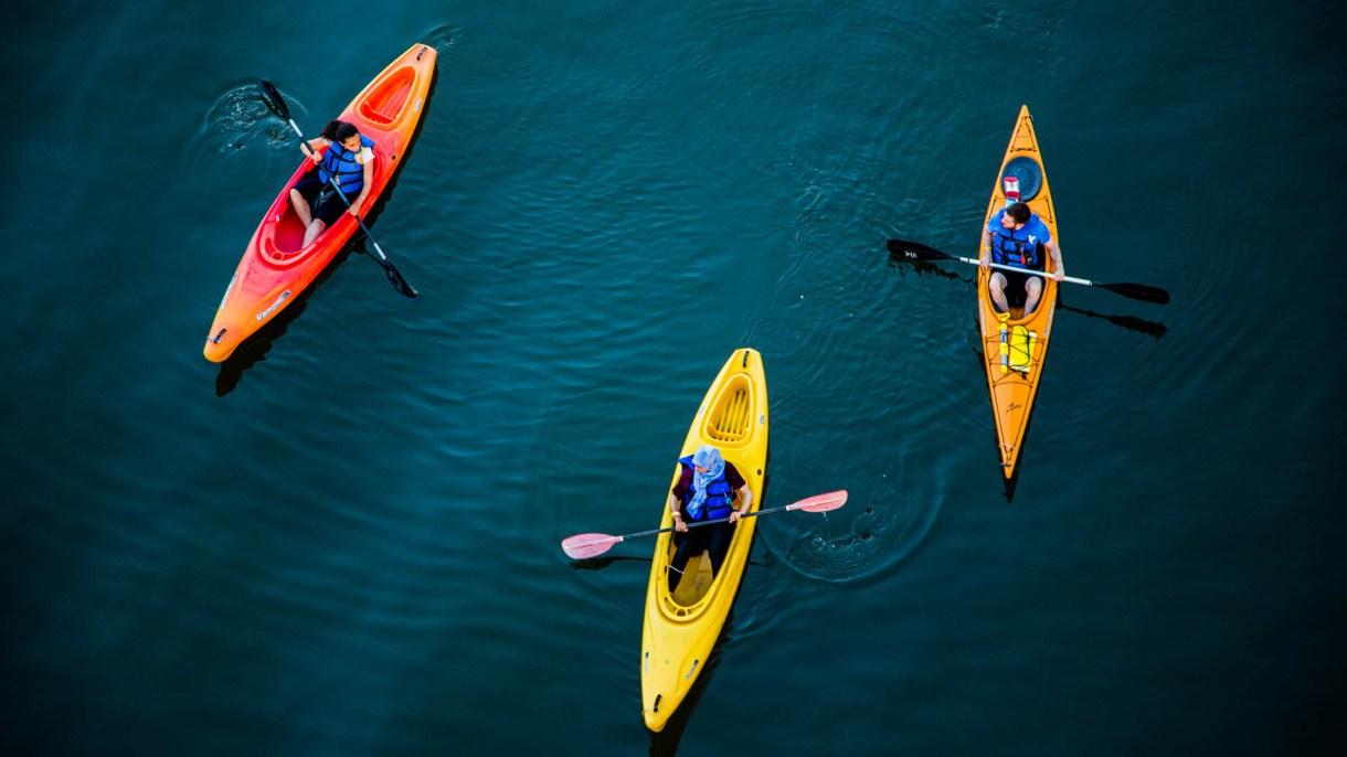 La colonia náutica ofrece diferentes propuesta para que los chicos disfruten del aire libre (Getty)