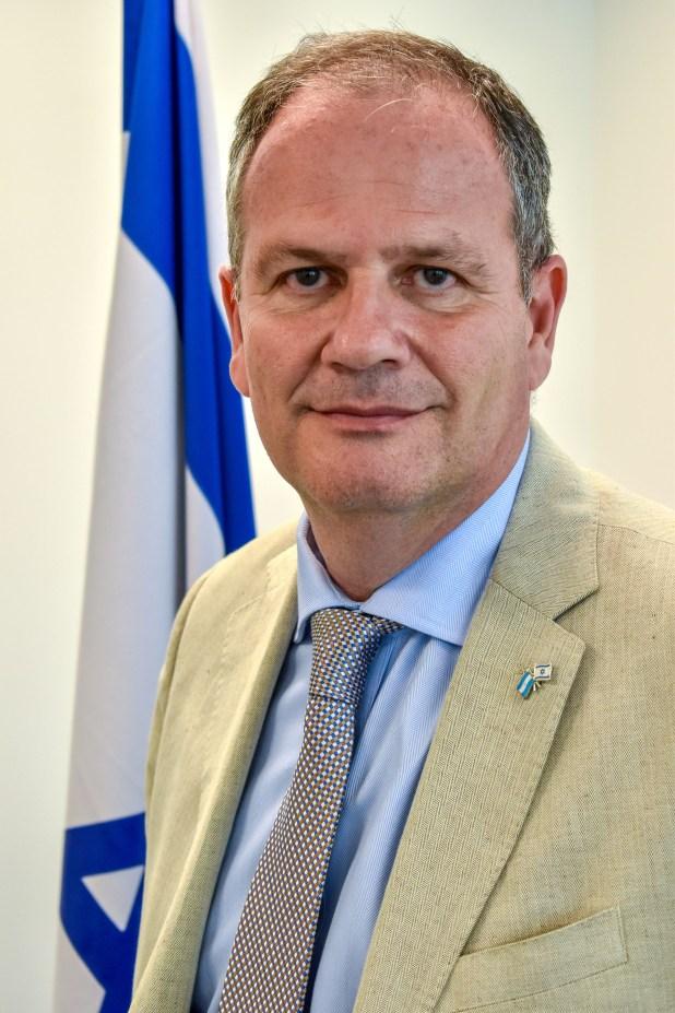 Ilan Sztulman, embajador de Israel en Buenos Aires