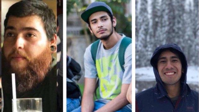 Salomón Aceves Gastélum (25), Daniel Díaz (20) y Marco Ávalos (20) fueron secuestrados y sus cuerpos disueltos en ácido.