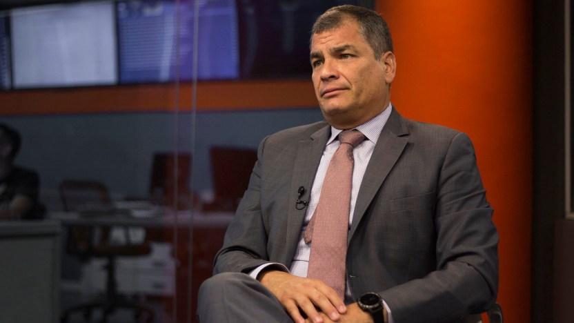 Rafael Correa (Esteban Andrés Cabrera)