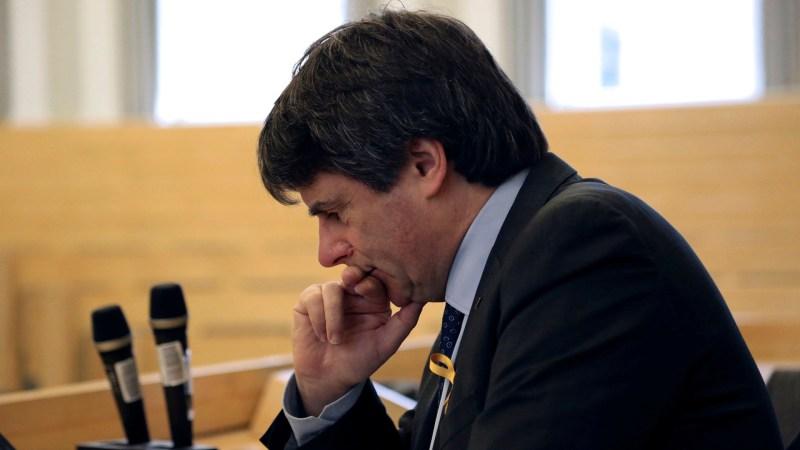 Puigdemont venía de Finlandia e intentaba retornar a Bélgica (EFE)