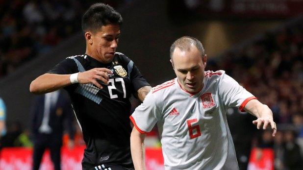 Maxi Meza ganó terreno en las últimas prácticas (Reuters)