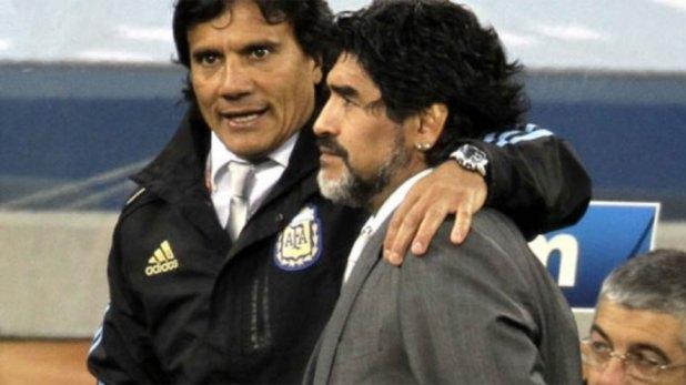 Luego de la eliminación ante Alemania dejaron el proyecto y Maradona fue reemplazado por Batista