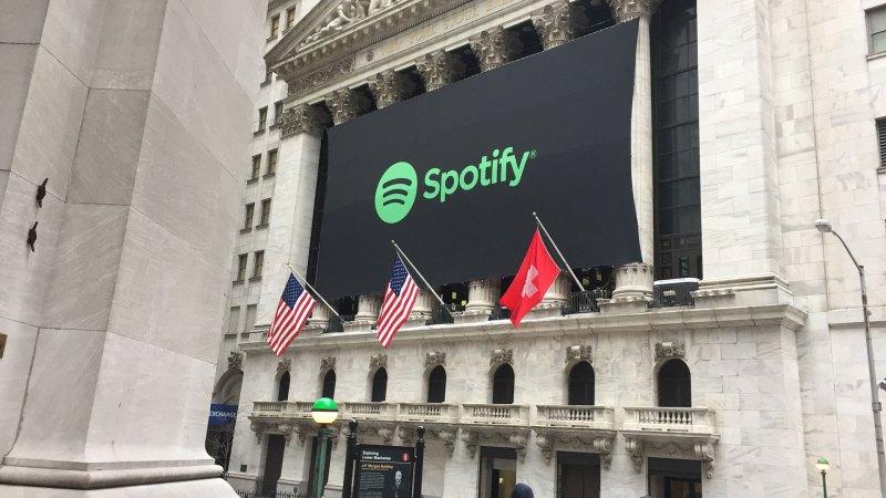 El insólito error en el debut de Spotify en Wall Street - Infobae