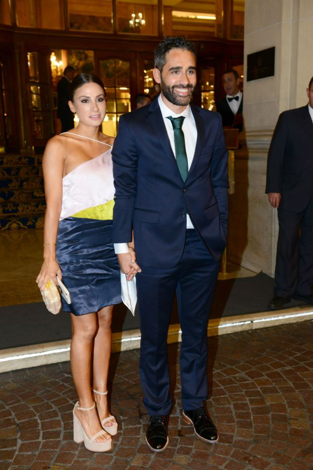 Tefi Russo y Pollo Álvarez. (Foto GENTE/Diego Soldini)