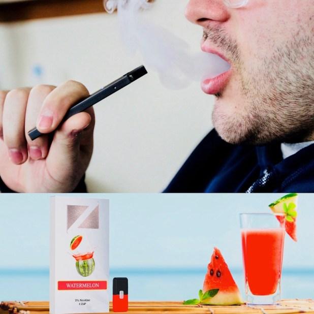 Las cápsulas saborizadas dan atractivo al producto antelos ojos adolescentes.
