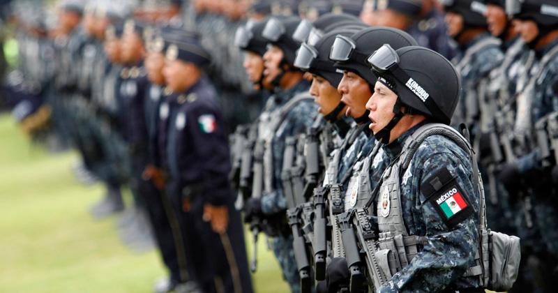 La Gendarmería reforzará la seguridad en la frontera que es entrada de la mayor parte de los migrantes centroamericanos. Foto: Especial.