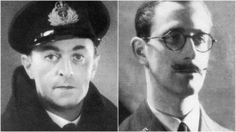 Ewen Montagu y Charles Choldmondley