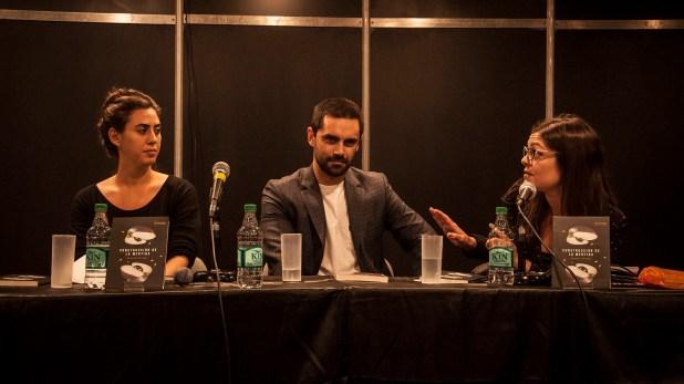 Natalia Rozenblum y Eugenia Zicavo presentaron la novela con el autor