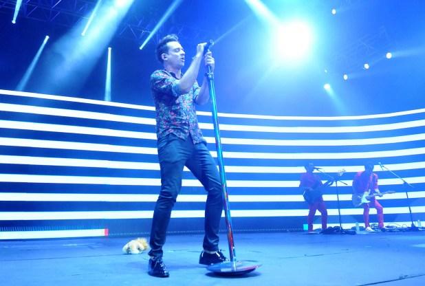 Chano Moreno Charpentiar dio un show en Luna Park. Tras dejar Tan Biónica, el cantante está dando sus primeros recitales como solista
