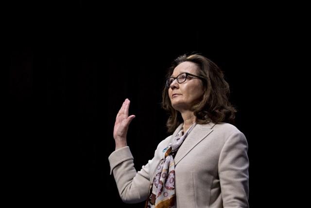 Gina Haspel (Bloomberg)