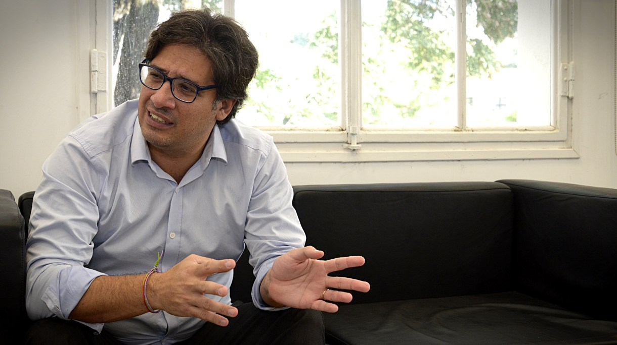 Germán Garavano volvió a defender el proyecto de régimen penal juvenil. (Gustavo Gavotti)