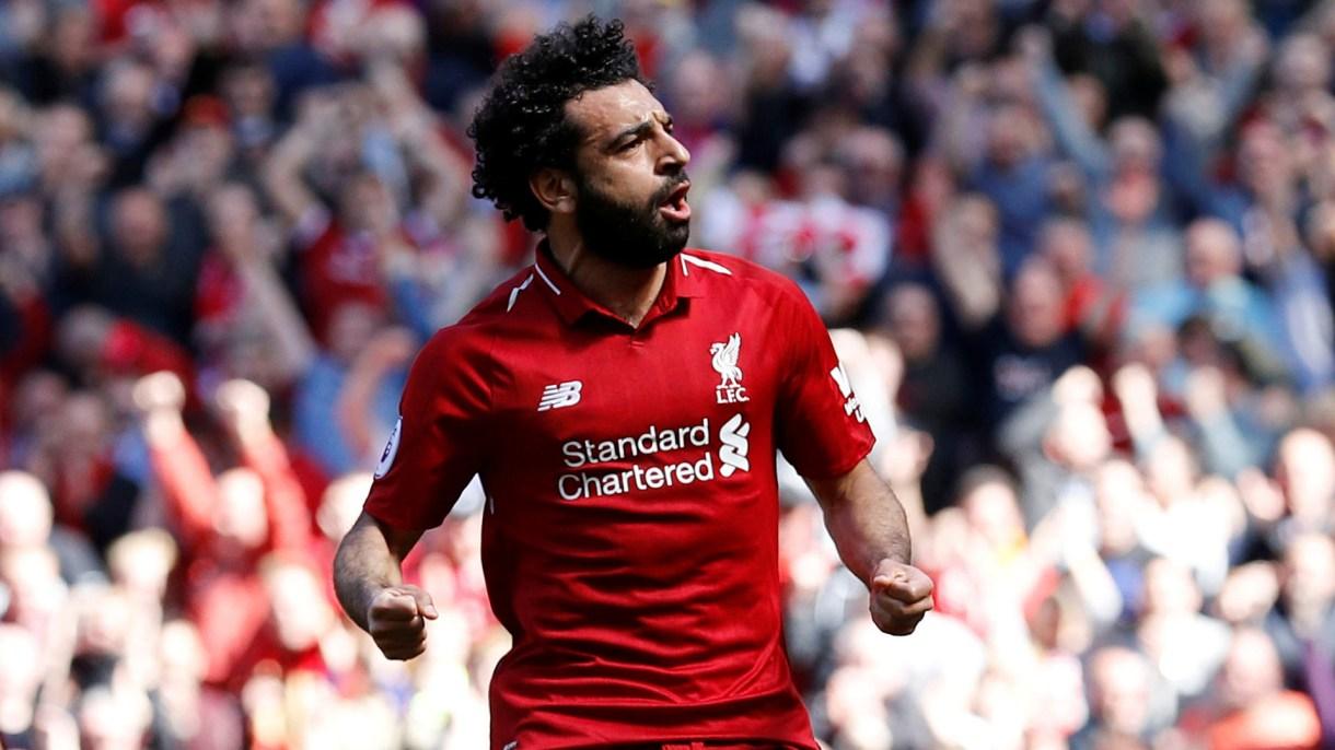 Mohamed Salah, el goleador egipcio del Liverpool, habría advertido a la directiva que se iría del club si llega Dabour (Reuters)