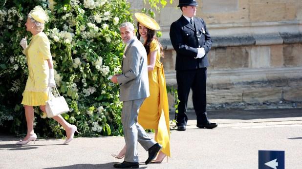 La pareja en el casamiento real en mayo pasado (EFE)