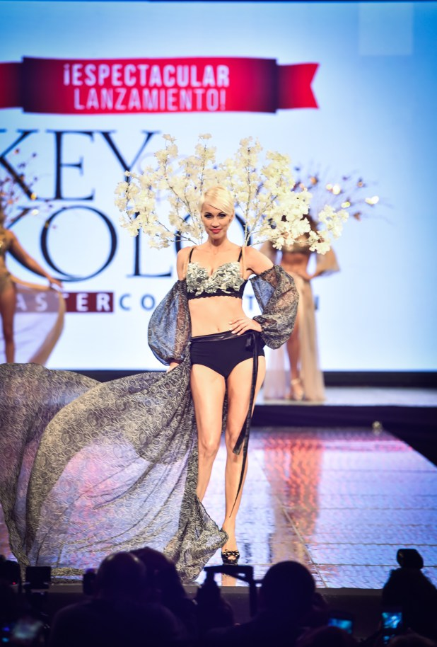 Ingrid Grudke, top model y emblema de la marca Silkey en la Argentina y el mundo.