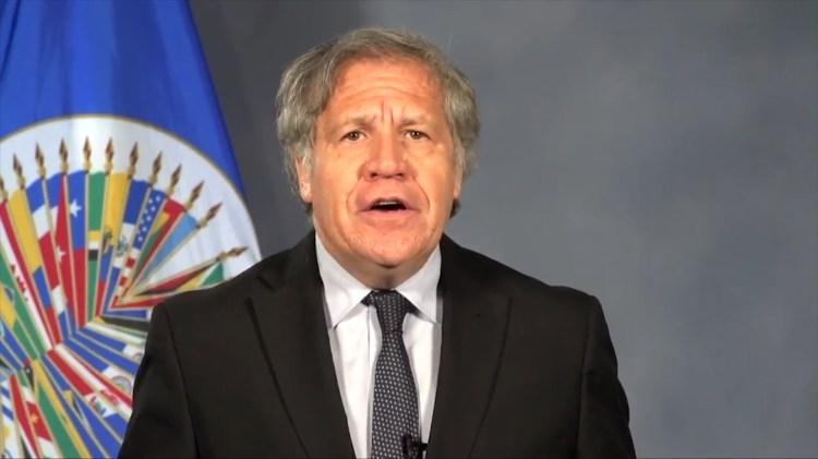 Luis Almagro aseguró que no se puede tener democracia sin elecciones