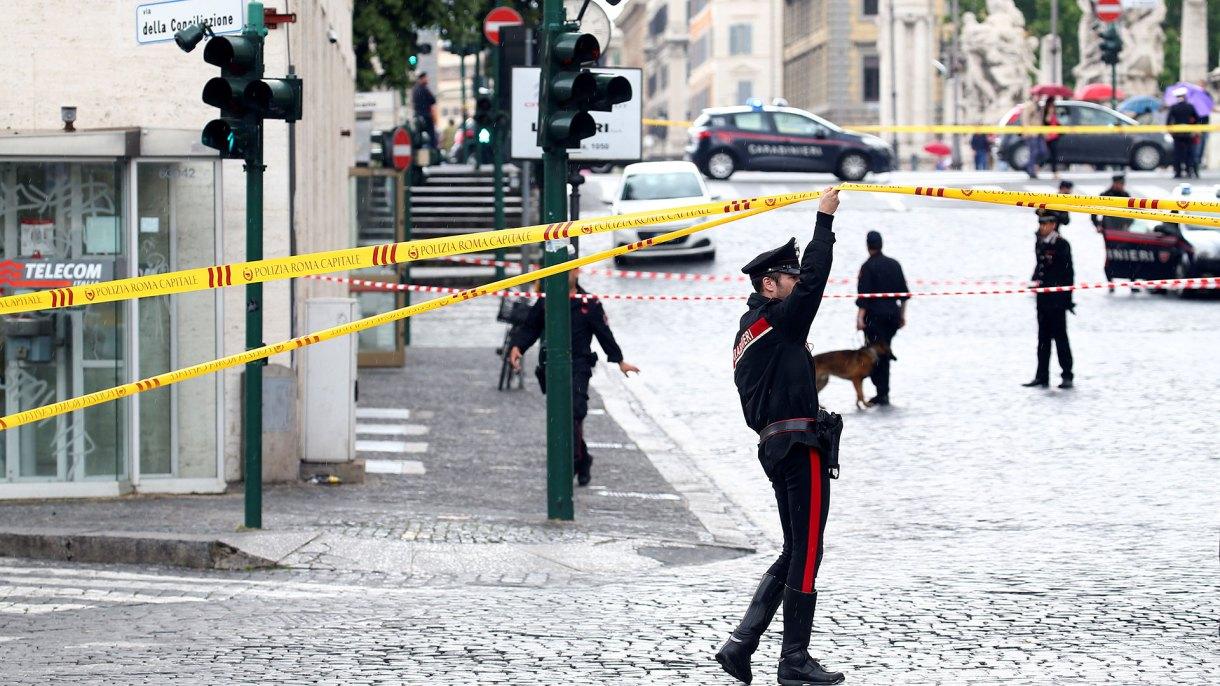 Agentes de los Carabineros italianos en Roma(REUTERS/Alessandro Bianchi/Archivo)