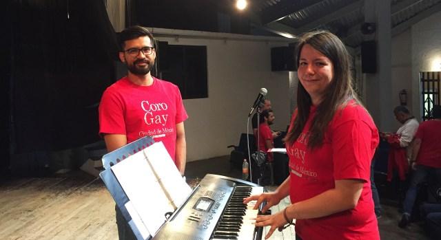 Jorge y Celia se sienten satisfechos con los resultados del coro.