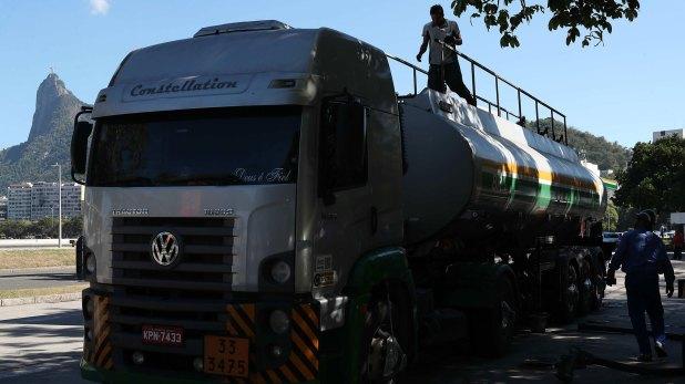 Un camión de Petrobras (EFE)