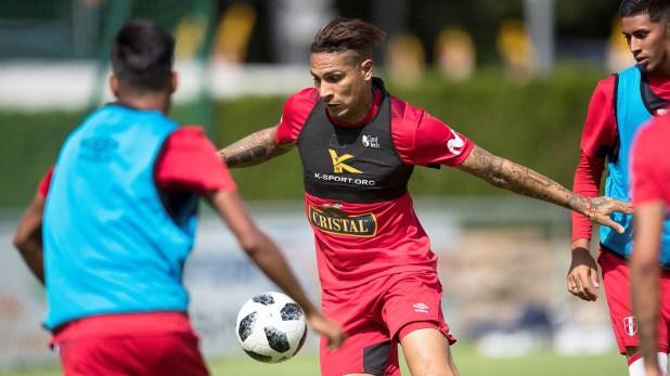(EFE) Guerrero volvió a la selección peruana