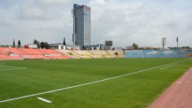 El estadio tiene una capacidad para 41.583 espectadores