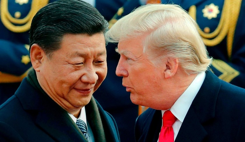 Donald Trump y Xi Jinping (AP)
