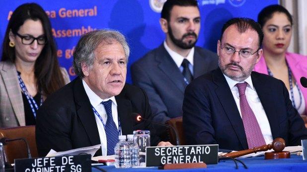 Luis Almagro, secretario general de la OEA (AFP)