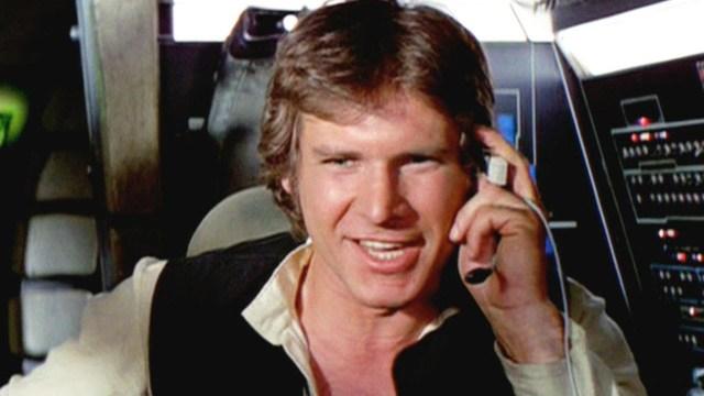"Harrison Ford en ""Star Wars"" (Captura Youtube)"