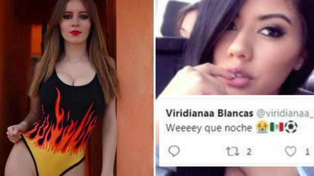 Aimée Álvarez y Viridiana Blancas revelaron a través de una serie de tuits que publicaron el día después de la fiesta lo bien que se la habían pasado con los seleccionados mexicanos. Las mujeres hicieron público lo bien que se la pasaron. (Foto: especial)