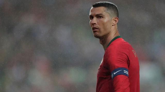Cristiano Ronaldo está con la Selección de Portugal (Reuters)