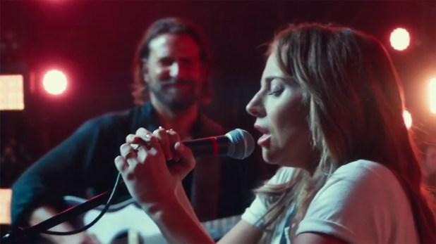 """Lady Gaga y Bradley Cooper en """"Nace una Estrella"""""""