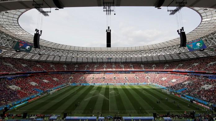 El EstadioLuznhiki es una de las doce sedes del Mundial que se jugarán en once ciudades rusas. Ubicado en la capital Moscú, se jugarán siete partidos: además de la inauguración se celebrará la final de la Copa del Mundo(Reuters)