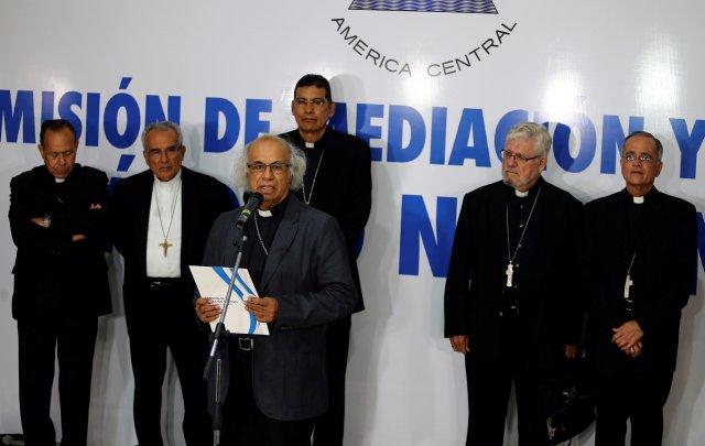 La Iglesia ha tenido un contra el régimen de Ortega. (REUTERS/Oswaldo Rivas)