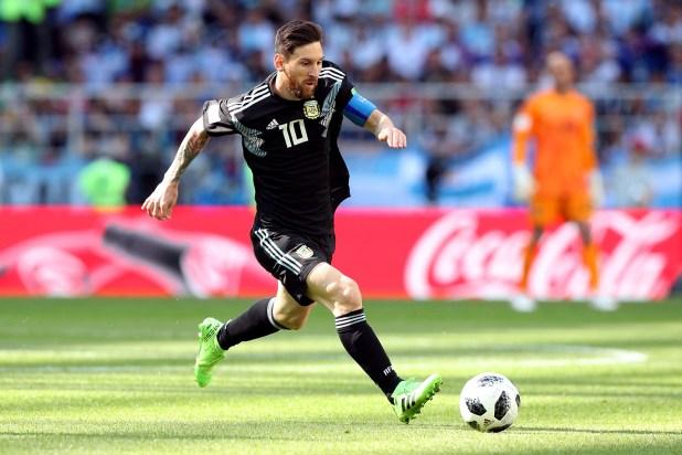 Lionel Messi (REUTERS)