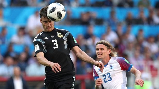 El lateral derecho fue parte del equipo titular que jugó el Mundial de Rusia 2018. (REUTERS)