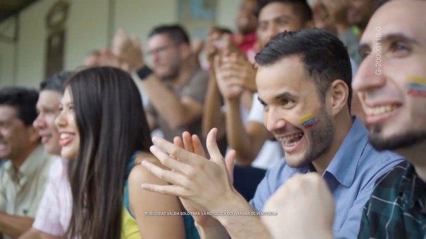 El Banco Central de Venezuela (BCV) aprovechó el Mundial de Fútbol para producir una pieza publicitaria en la que derrota en un partido a la llamada guerra económica